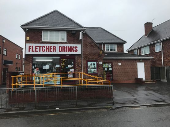 FLETCHERS DRINKS SHOPFRONT